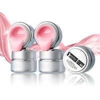 1pc Beautilux Pink Clear Milky Camouflage UV Self Leveling Builder Gel Soak Off UV LED Gels Nail Art Polish 50g