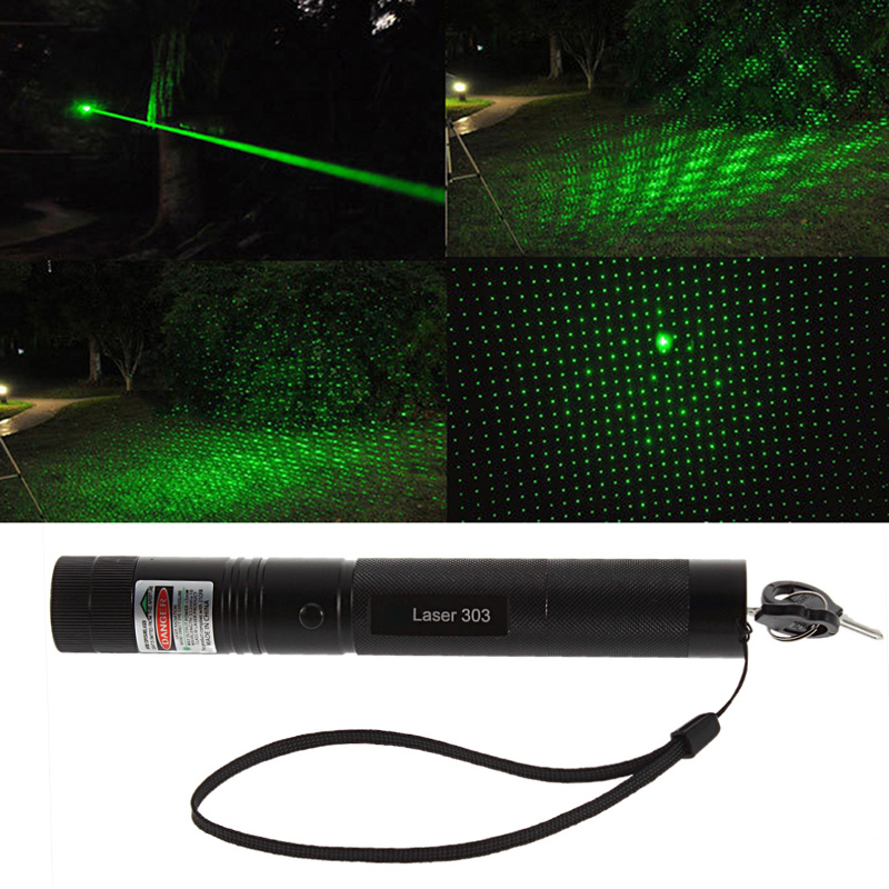 Upgrad Fire Powerful Laser 303 Adjustable Focus 532nm Green Laser Pointer Light Laser Pointer Pen For Hunting Burning