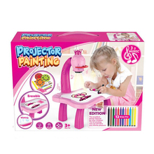 Desk-Toy Paint-Tools Projector Drawing-Table Educational Early-Learning Musical FOU99