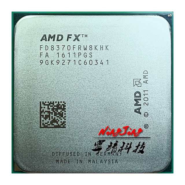 Amd fxシリーズFX 8370 fx 8370 FD8370FRW8KHK 4.0 2.4ghz 16mb 125ワットソケットAM3 +