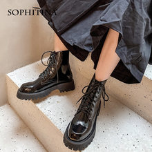 Sophitina/женские ботинки; Модные женские ботильоны ручной работы