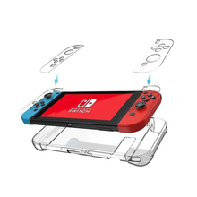 Clear Back Bag Protective Cover Case for Nintendo Switch NS NX Cases Cover for Nintend Switch Ultra Thin PC Transparent Bag protective case crystal cover shell shockproof back clear ultra thin transparent for nintendo switch ns game console controller