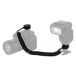 Image 2 - Kapalı ayakkabı TTL kablo çoklu arayüz ayakkabı OFF kamera TTL flaş kablosu uyumlu Sony ADI/P TT genişletilmiş 2m kamera TTL flaş