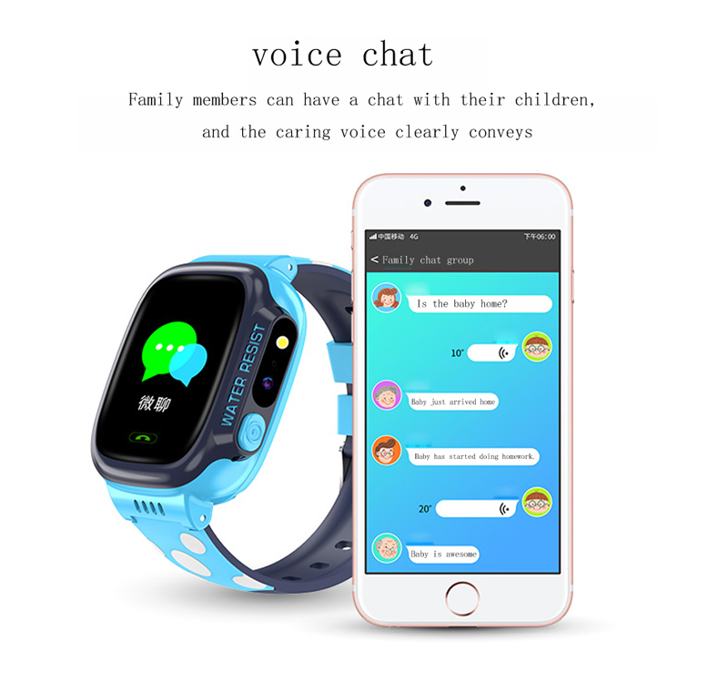 Image 3 - GEJIAN kids watches IPX7 waterproof touch screen SOS mobile phone call device GPS positioning tracker anti lost children's watch-in Children's Watches from Watches