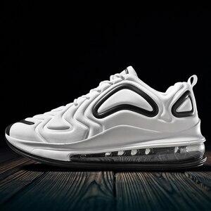Image 2 - Qzhsmy Mannen Gevulkaniseerd Vrouwen Mutlicolor Schoenen Sneakers Mesh Lente Herfst 2019 Casual Big Size Zapatos Zapatillas Hombre Tenis