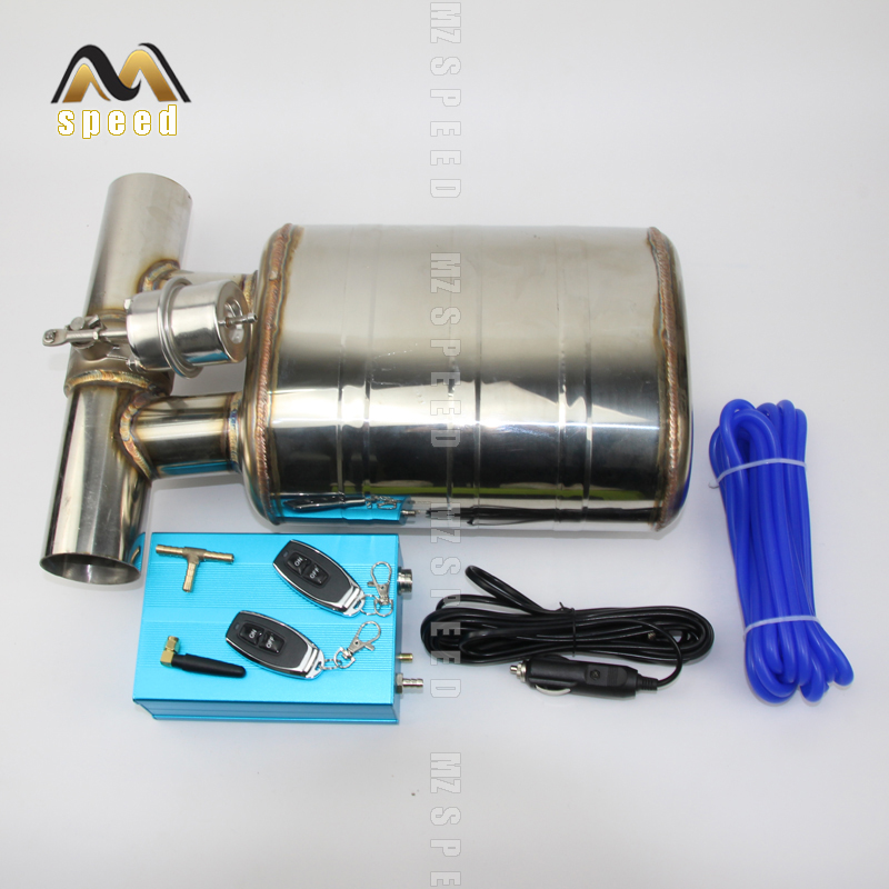 auto exhaust pipe remote control valve exhaust muffler 304 stainless steel remote control switch sound exhaust for bmw e90 e46