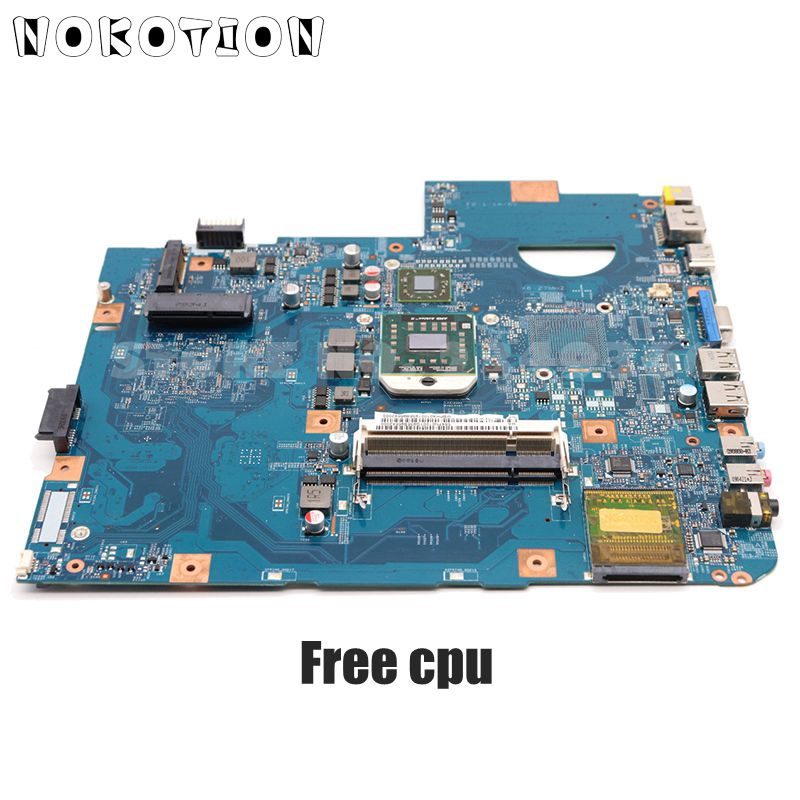 NOKOTION Laptop <font><b>Motherboard</b></font> For <font><b>Acer</b></font> <font><b>aspire</b></font> 5542 <font><b>5542g</b></font> MAIN BOARD MBPHA01001 48.4FN01.011 216-0752001 DDR2 Free cpu image
