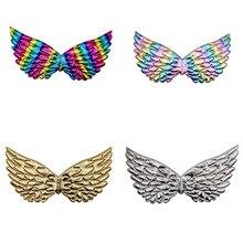 Unicorn-Costume Rainbow Halloween Cosplay Kids Princess Girl Accessories for Fairy Wings
