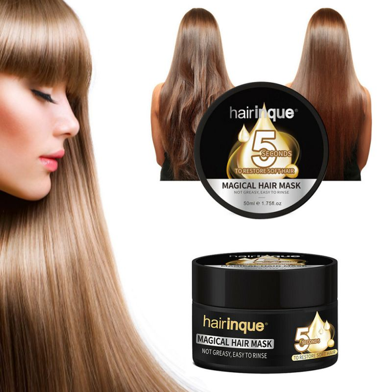 Hair Treatmen 90g Fast Restores Damage Soft Hair For All Hair Keratin Hair Types And Scalp Treatment Hair Smooth image