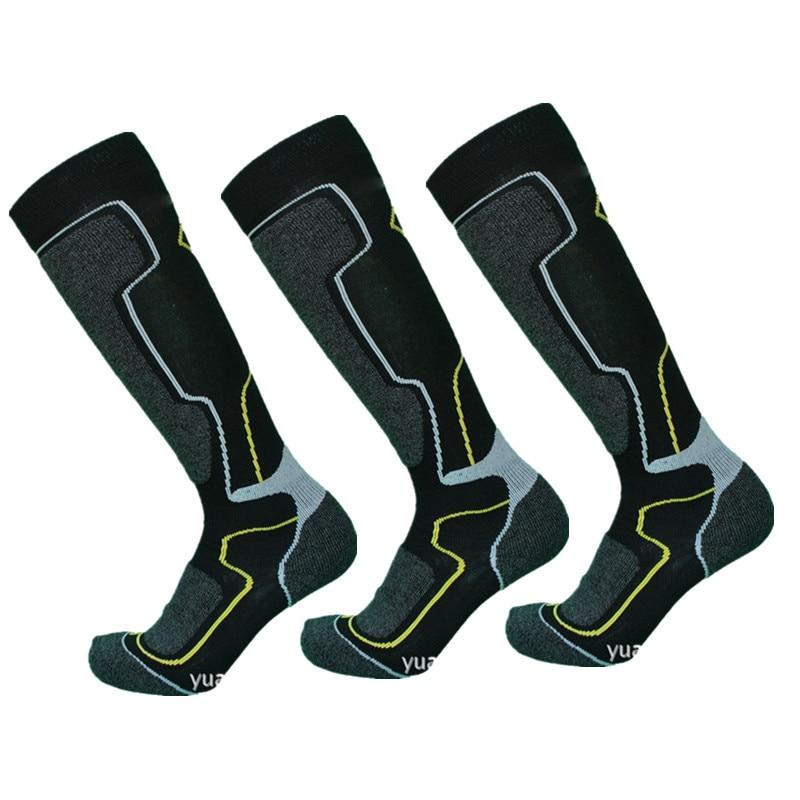Horse Riding Socks 3 Pairs/Pack Horseback Riding Socks Men Long Socks Equestrian Outdoor Sports Wool Thick Winter Warm Equipment