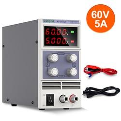 Лабораторный стабилизатор, источник питания постоянного тока с регулируемым напряжением 60 в 5 А, стандартный Регулируемый источник питания...