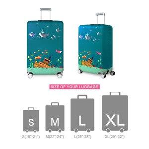 Image 4 - VOGVIGO, Maleta de viaje más gruesa, Fundas protectoras para la caja del maletero, se aplica a 18  32, cubierta de la maleta, elástico perfectamente, nuevo