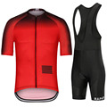 Ciclismo Top quality 2020 Cycling Sets Racing Clothes Quick Dry Jersey Set Short Sleeve Sportwear MITI Fabric pro team aero cut