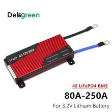 Bms 4S 80A 100A 120A 150A 200A 250A Lithium Batterij Bms Pcm/Pcb Voor 12.8V Lithium LiFePO4 batterij Bescherming Circuit Board