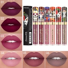 6 Colors Waterproof Lipstick Non-Stick Cup Lip Gloss Matte L