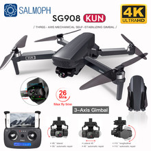 SG908 GPS Drone with WiFi 4K HD Camera 3-Axis Gimbal FPV Profesional Dron Foldable Quadcopter distance 1.2km VS SG906 PRO 2 MAX