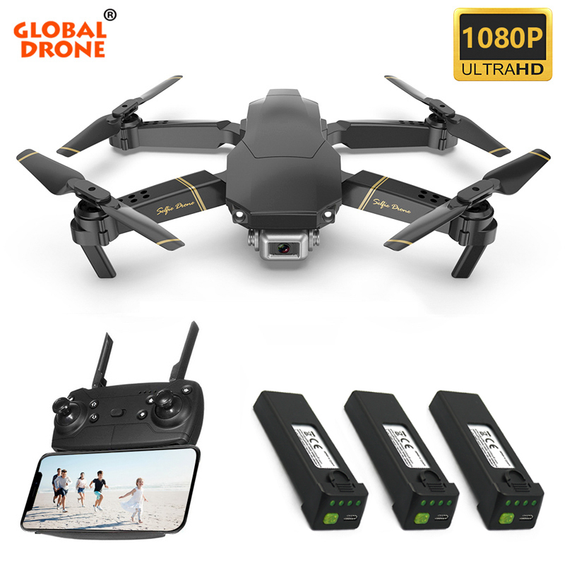 Global Drone EXA Profissional Dron Fly Camera HD RC Helicopter Foldable FPV Drone with Camera Quadrocopter VS M69 M70 E58 E520