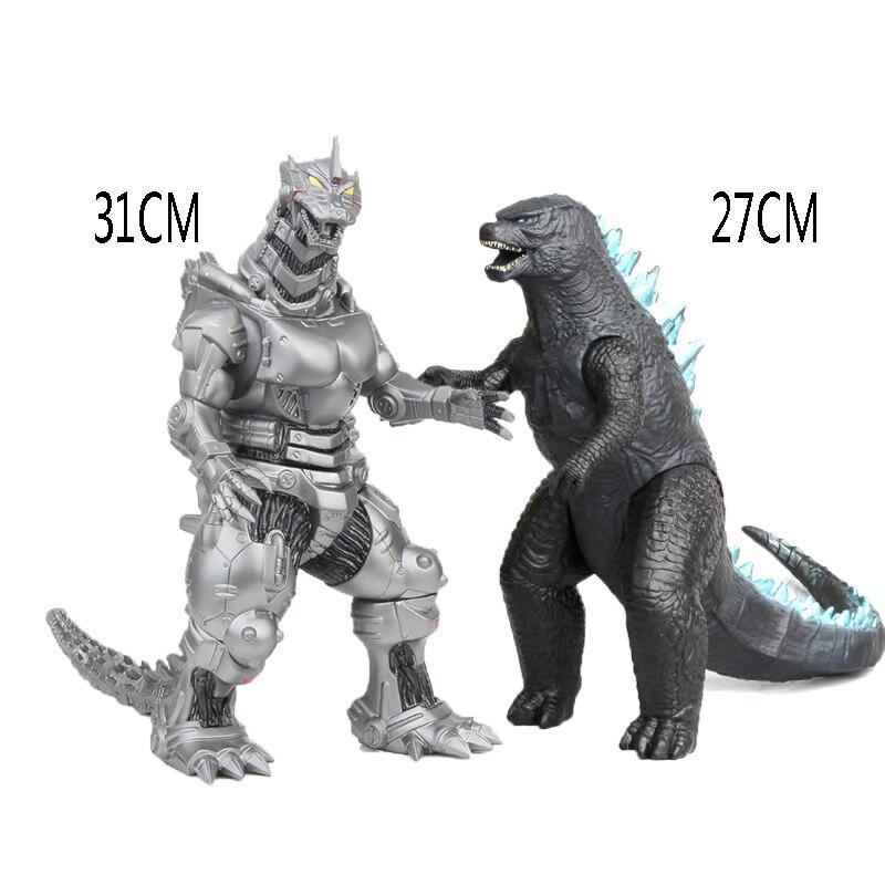 Godzilla 2019 Figures Anime Movie PVC Action Figure Movable Doll Model Toys Jongens Kids Kind Speelgoed Cartoon Figure 27CM