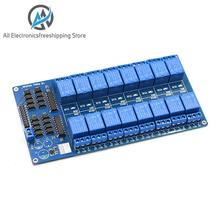 5V 16 Channel Relay Module for arduino ARM PIC AVR DSP Electronic Relay Plate Belt optocoupler isolation