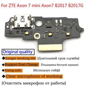 Image 2 - מקורי IC B2017 עבור ZTE Axon 7 מיני Axon7 B2017G Axonmini Dock USB טעינת נמל לוח להגמיש כבל מחבר חלקי