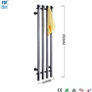 Image 5 - 2020 popaular design de aço inoxidável 304 vertical aquecida toalheiro toalha aquecedor fixado na parede HZ 932A