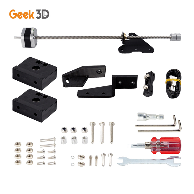 Dual Z Axis Lead Screw Upgrade Kits for Creality CR10 Ender3 Pro 3D Printer Accessories impressora 3d ender 3 pro dual z axis 1