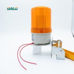 Lámpara intermitente estroboscópico LED para exteriores, luz de alarma, baliza de emergencia para motores de apertura de puerta de persiana con soporte de sonido