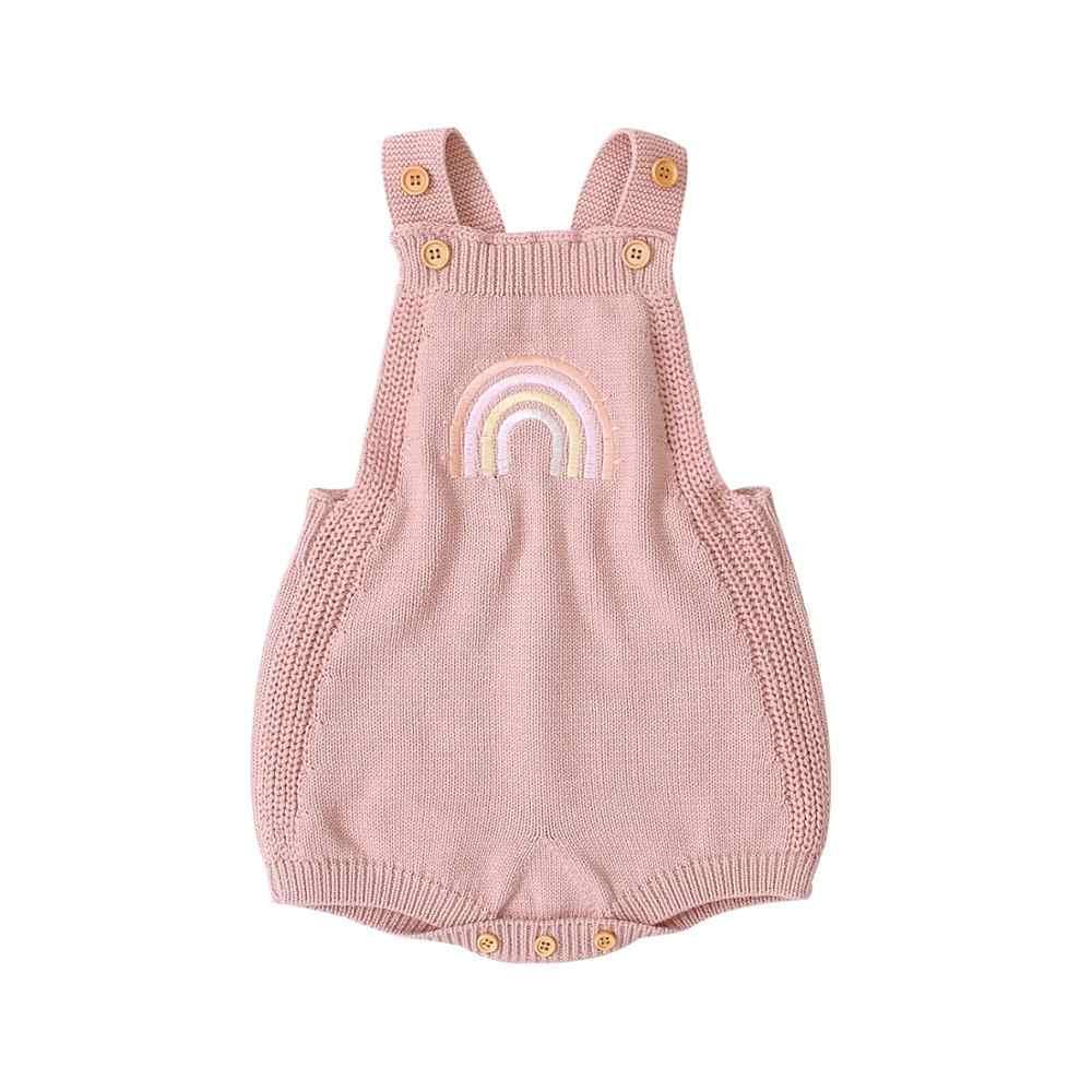 Bodysuits 100% Cotton Dệt Kim Sơ Sinh Bebes Không Tay Onesie Thu Đông Infantil Áo Liền Quần Trẻ Em Quần Yếm Một Mảnh Cao Cấp