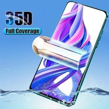 Перейти на Алиэкспресс и купить Бесшовная Гидрогелевая пленка для Vivo Z6 IQOO 3 5G V17 SD675 X30 Z1 Z5X Pro S5 полное покрытие изогнутое Защитное стекло для экрана не закаленное стекло