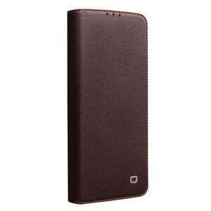 Image 2 - Brieftasche Telefon Fall Flip Cover für Huawei P40 P40Pro Echtem Leder Telefon Bag Business Cases Abdeckungen für Huawei P40 Pro abdeckung
