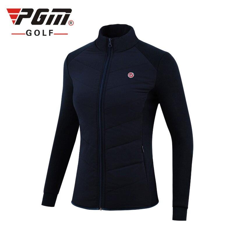 Vestuário de Golfe à Prova de Vento Quente para Baixo Novo Vestuário Feminino Outono Inverno Cabolsa Engrossar lã Algodão Jaquetas Golfe Pgm 2020