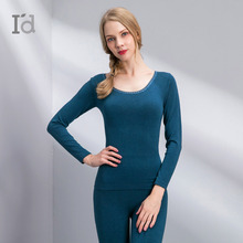Slimming body Shaping Lingerie Thermal Underwear For Women Sexy Warm Seamless Winter Set