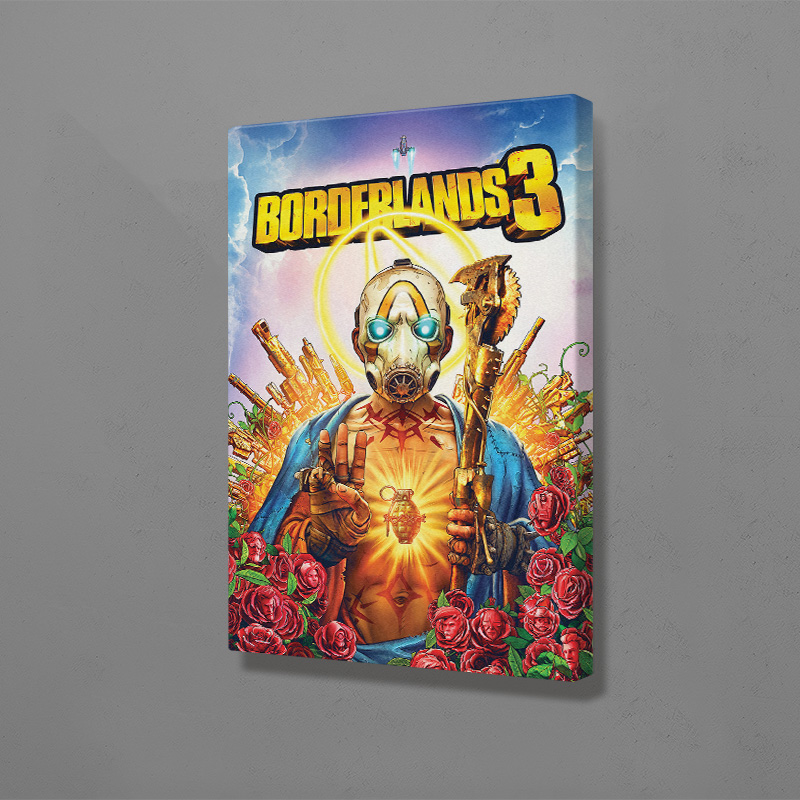 Borderlands 3 game poster Painting Wall Decoration Art Canvas Prints For Living Room Home Bedroom Decor image