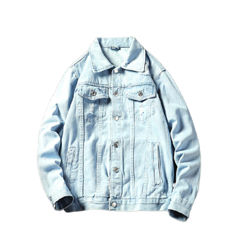 Denim Jacket Mens 2020 Spring And Autumn New Casual Korean Trend Trend Overalls Japanese Streetwear Mens Coats And Jackets