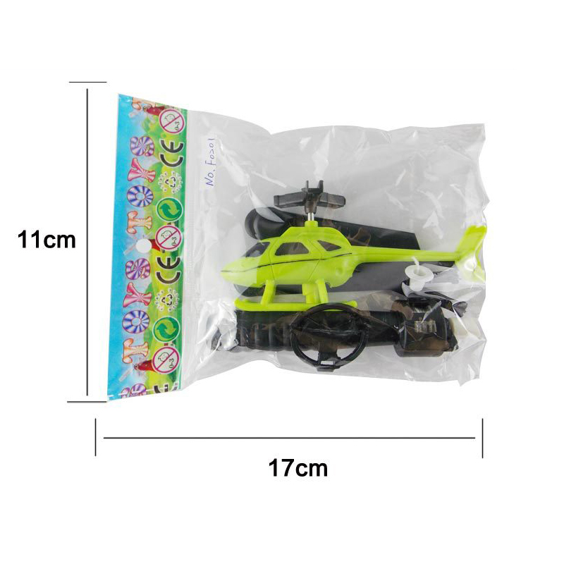 Pull String Helicopter Outdoor Toy 13
