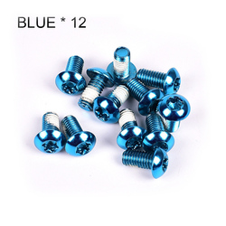 12Pcs T25 Bicycle Brake Disc Screws For Mountain Bike Brake Disc Screws Decorations Alloy Steel Bolt Rotor Cycling Exquisite