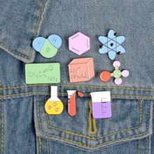 Cartoon cute alloy drip oil brooch high-grade enamel cowboy badge  Brooch girl pin coat goth jewelry gift