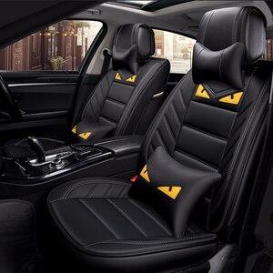 Чехлы ZRCGL для автомобильных сидений, универсальные кожаные чехлы для Citroen, все модели, чехлы для автомобилей с триумфальным покрытием, для ав...