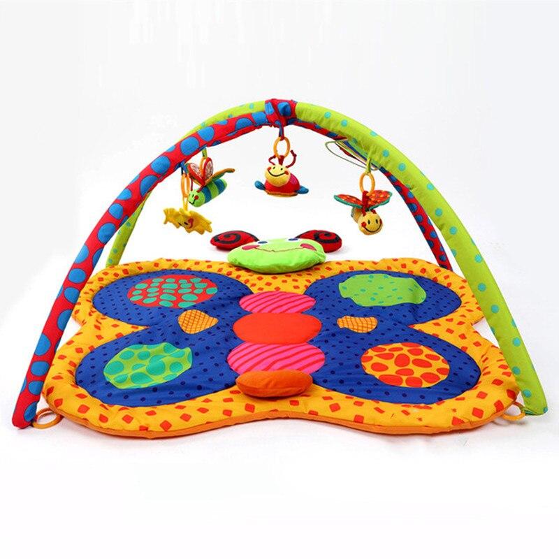 Tapis de jeu pour bébé jouets cadeau jouer tapis de gymnastique doux tapis de sol pour bébé 3D activité tapis de jeu tapis rampant enfants tapis jouet éducatif - 2