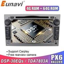 Eunavi 2 Din Android 10 Auto dvd stereo radio Player Für Opel Astra Vectra Antara Zafira Corsa GPS Multimedia in dash CD 7 IPS