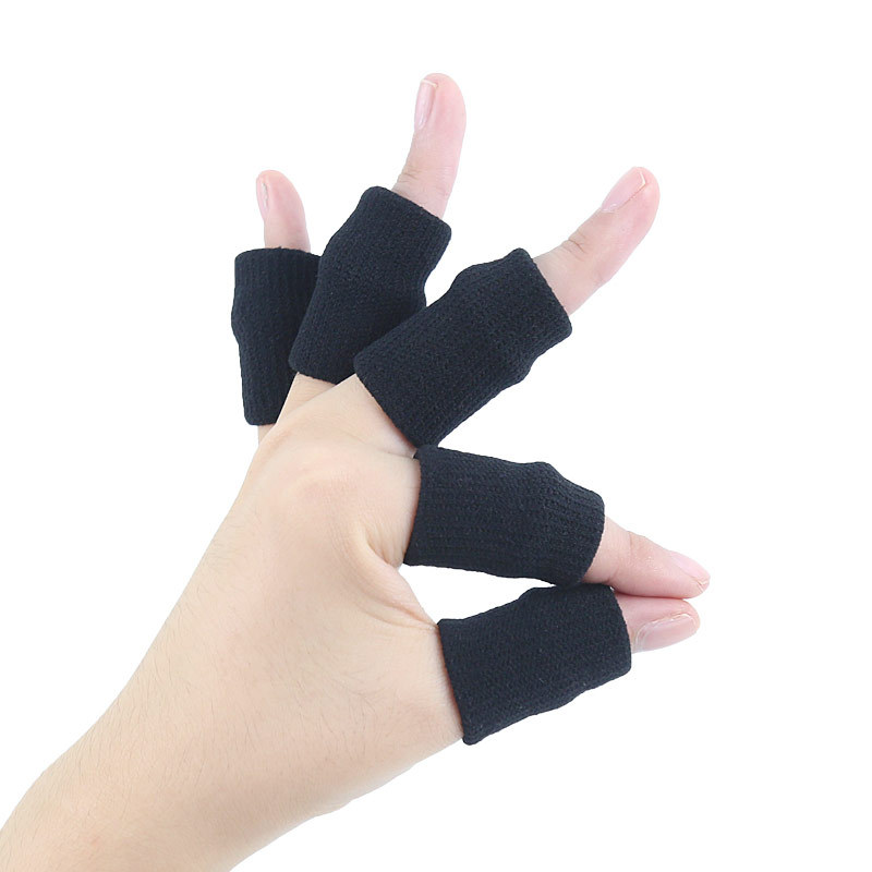 Amazon For Nylon Knitted Basketball Tennis Volleyball Sports Finger Anti-Friction Finger Joints Fingerstall Tao