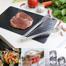 Быстрый Лоток Для Оттаивания оттепель домашняя кухня антипригарный замороженный корм мясо рыба Быстрый Лоток Для Оттаивания тарелка для разморозки кухонный гаджет инструмент