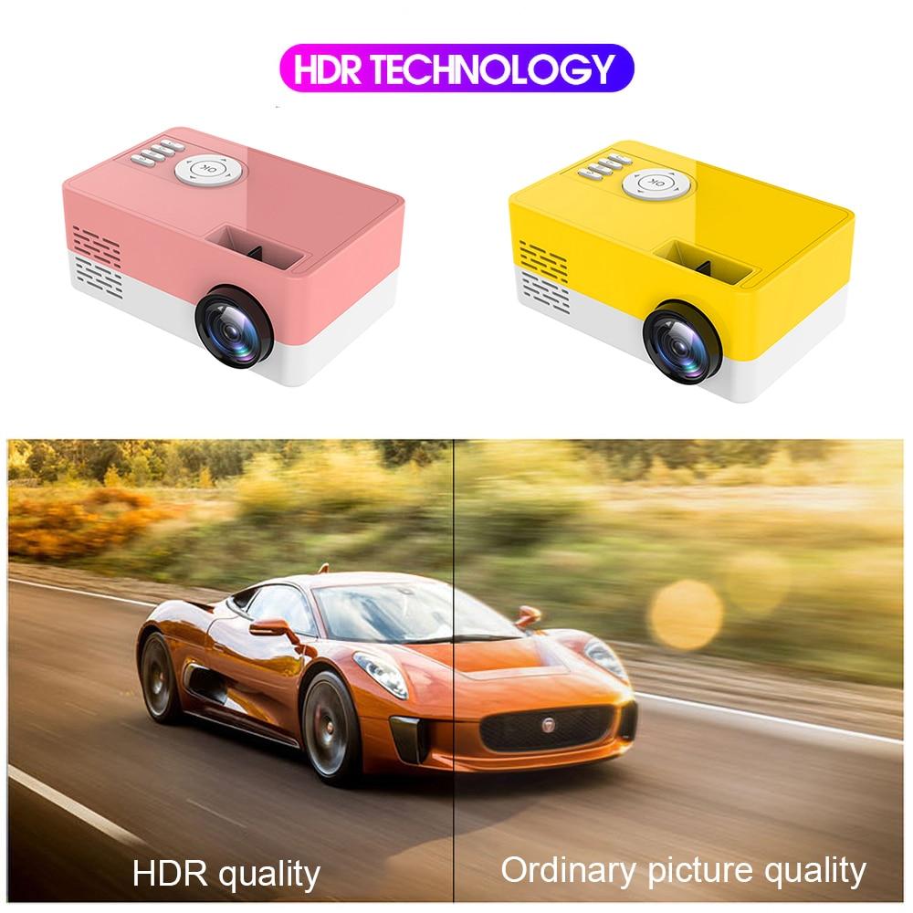 LumiProjector™-HDMI Mini Projector