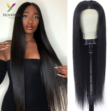40 Inch Human Hair Wig For Women Bone Straight Lace Front Wig Density 150 Brazilian Hair Lace Front Wig 4X4 Lace Closure Wig