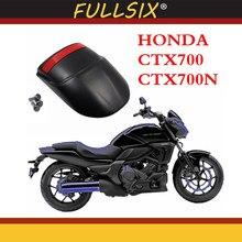 Motocicleta frente paralama fender extensão extensor traseiro para honda ctx700 ctx 700 aventura