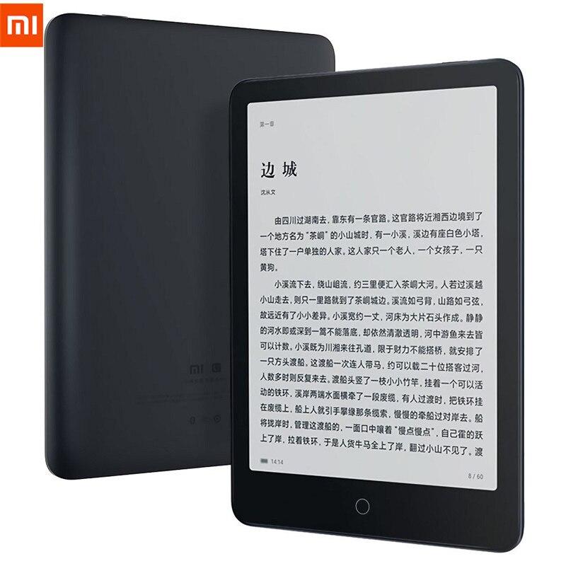 Xiaomi mi ebook leitor pro 7.8 Polegada hd e-ink carta tela 4 núcleo android 8.1 sistema 2gb 32 wifi bluethooth 5.0 livro eletrônico