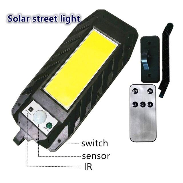Купить светодиодный светильник на солнечной батарее уличный с регулируемой картинки цена