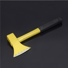 Axe With Steel Handle Woodworking Handle Outdoor Camping Felling  Axe With Steel Handle hx tactical axe hunting camping top quality army 56hrc steel outdoor hunting camping axe fire axe axes tool dropshipping