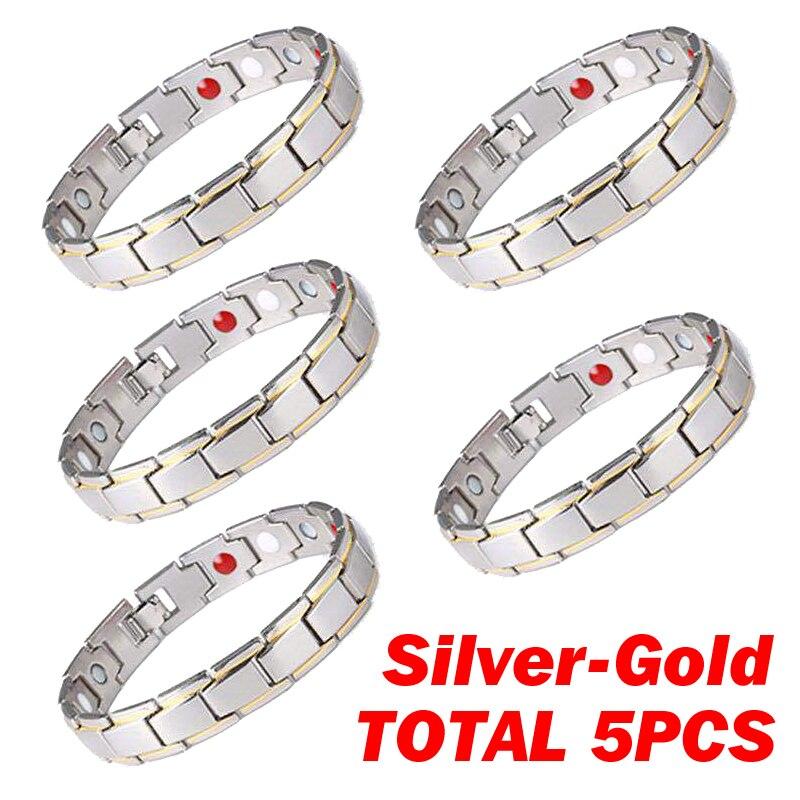 1 Row 5pcs S-Gold