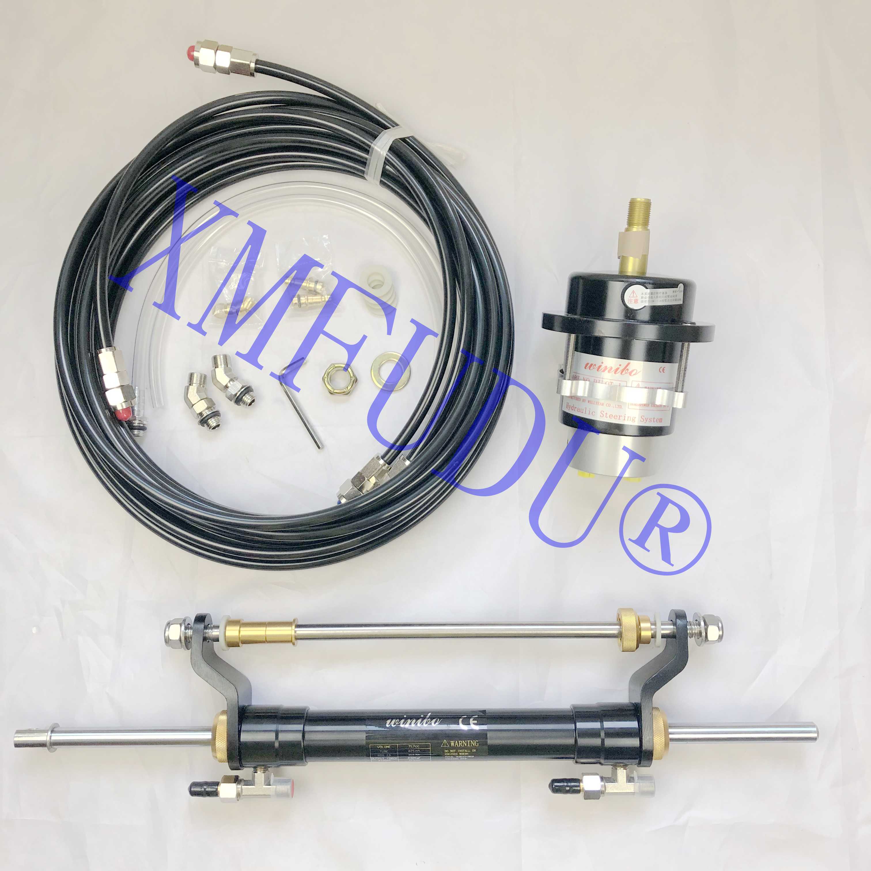 Outboard Hydraulic Steering System For Engines Till 90 HP